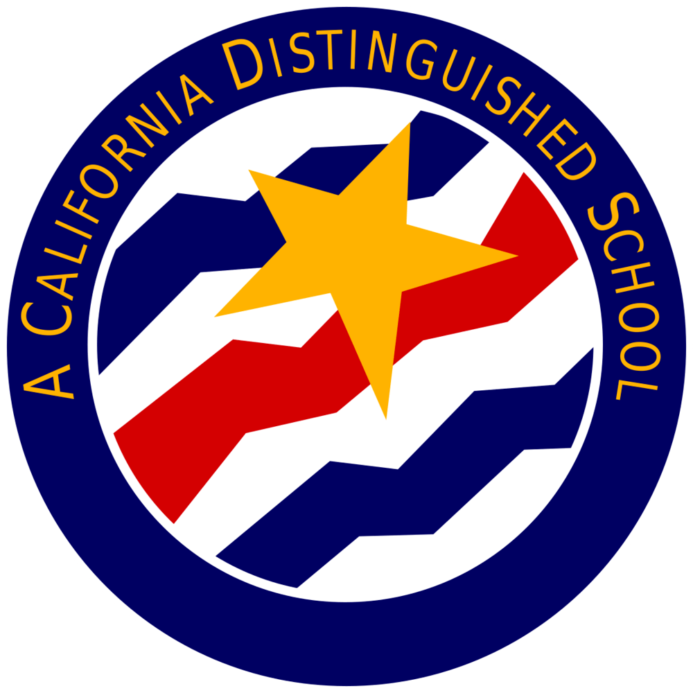 California Distinguished School badge